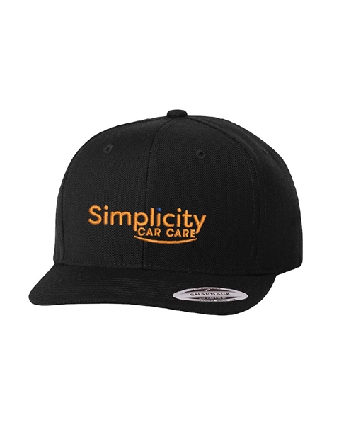 Picture of Simplicity Flat Bill Snapback Hat